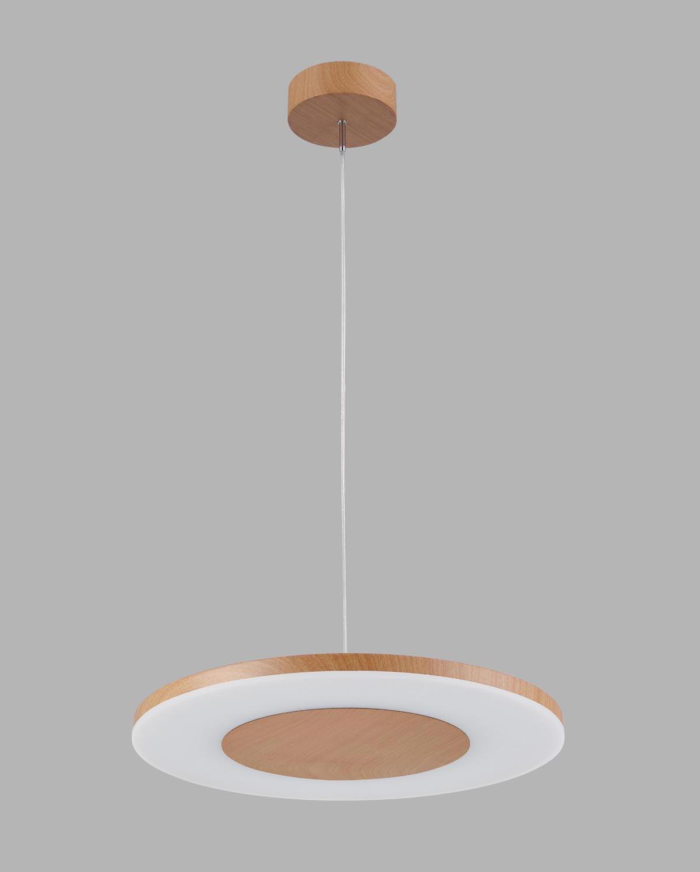 Lámpara colgante madera DISCOBOLO
