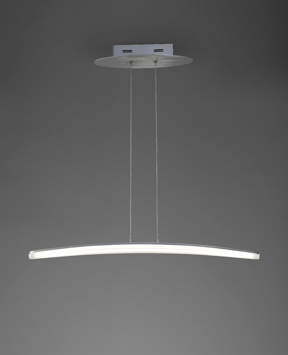 Lámpara pequeña HEMISFERIC aluminio