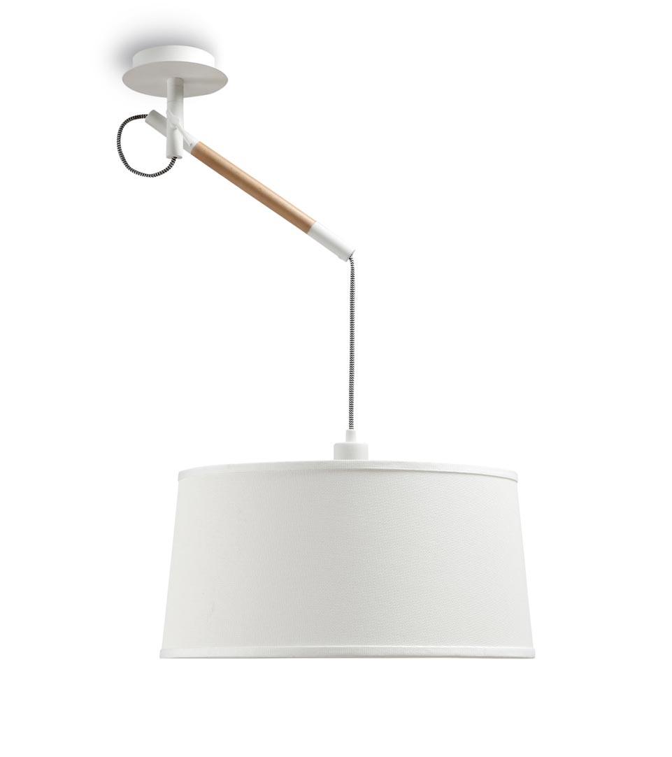 Lámpara blanca NORDICA