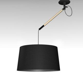 Lámpara negra NORDICA
