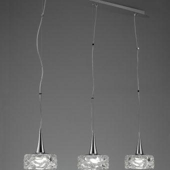 Lámpara lineal O2 E27 3 luces