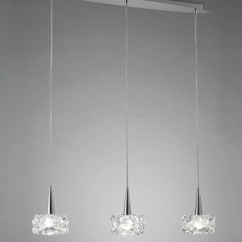 Lámpara lineal O2 G9 3 luces