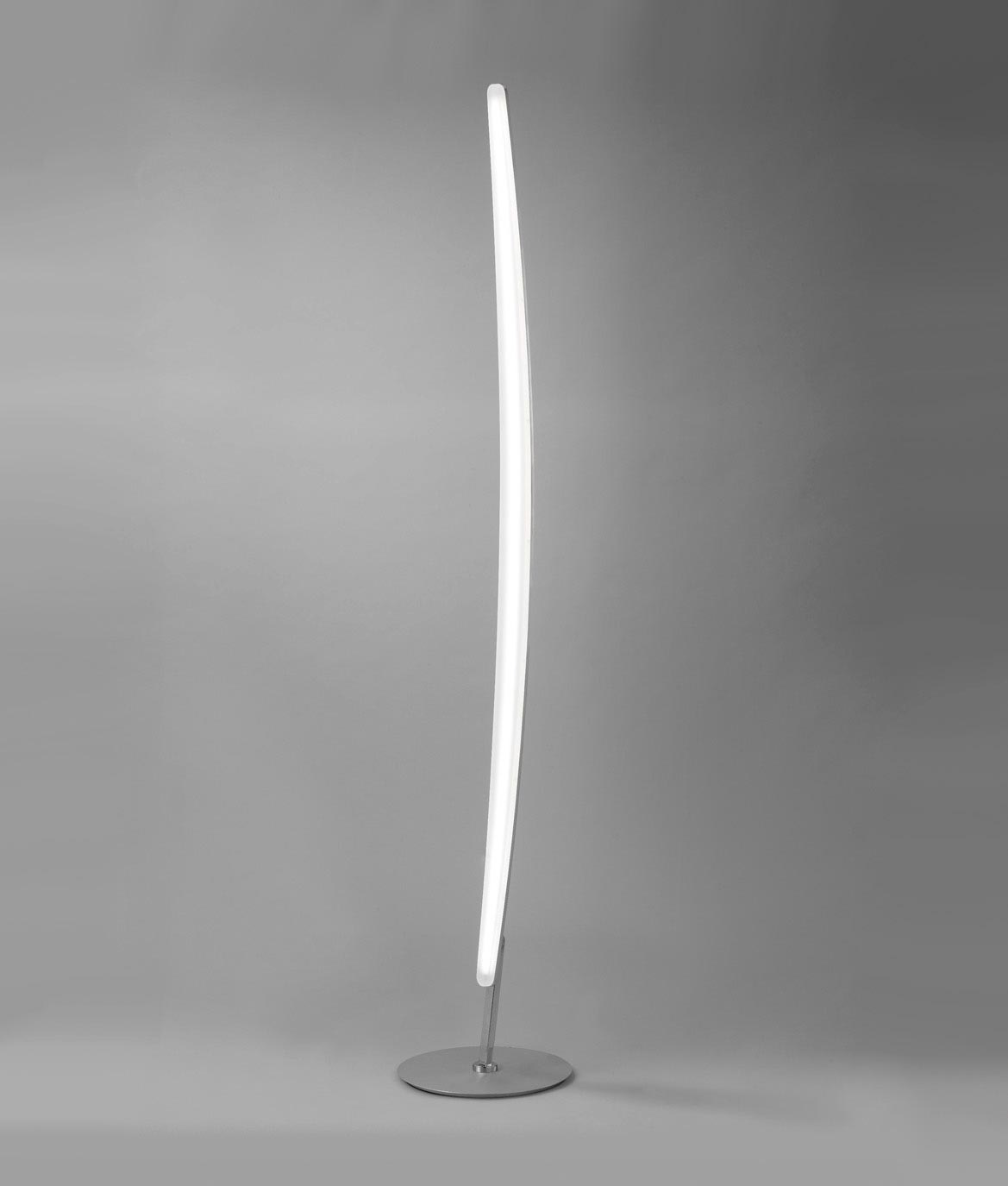 Lámpara de pie HEMISFERIC aluminio