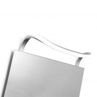 Aplique baño ondas SISLEY plata cromo
