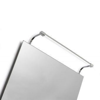 Aplique baño SISLEY plata cromo