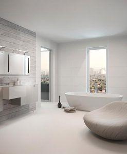 Aplique baño SISLEY plata/cromo ambiente