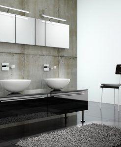 Aplique cuadros SISLEY plata/cromo ambiente