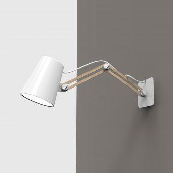 Aplique de pared doble brazo LOOKER