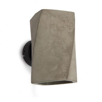 Aplique de pared GHERY cemento