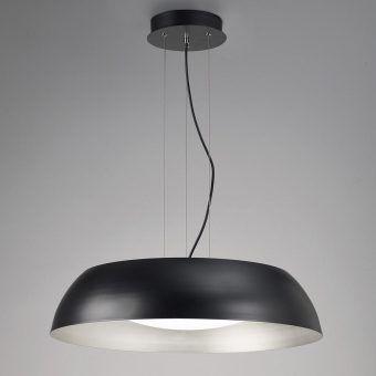 Lámpara colgante negro grande ARGENTA