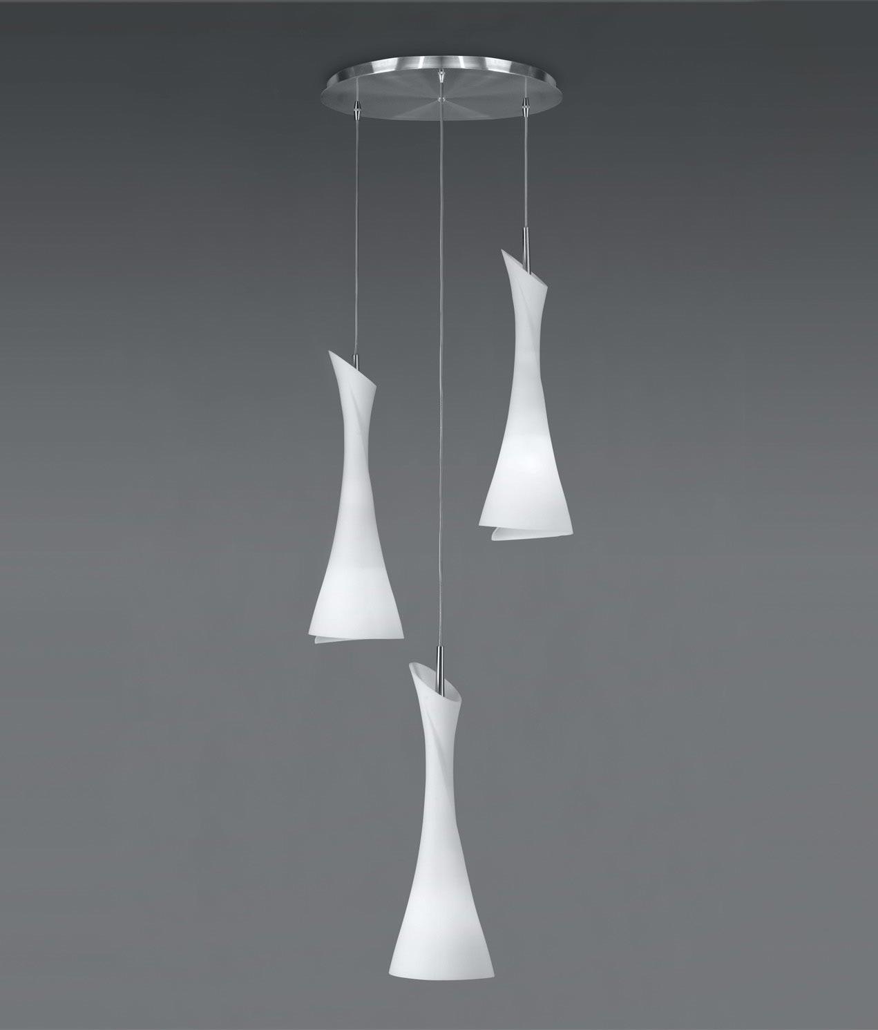 Lámpara colgante circular ZACK 3 luces