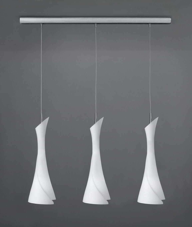 Lámpara colgante lineal ZACK 3 luces