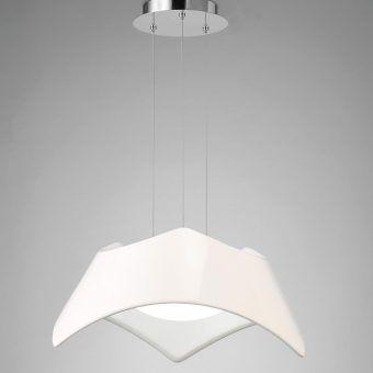Lámpara colgante blanco MAUI