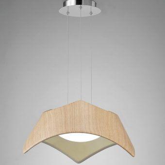 Lámpara colgante madera MAUI