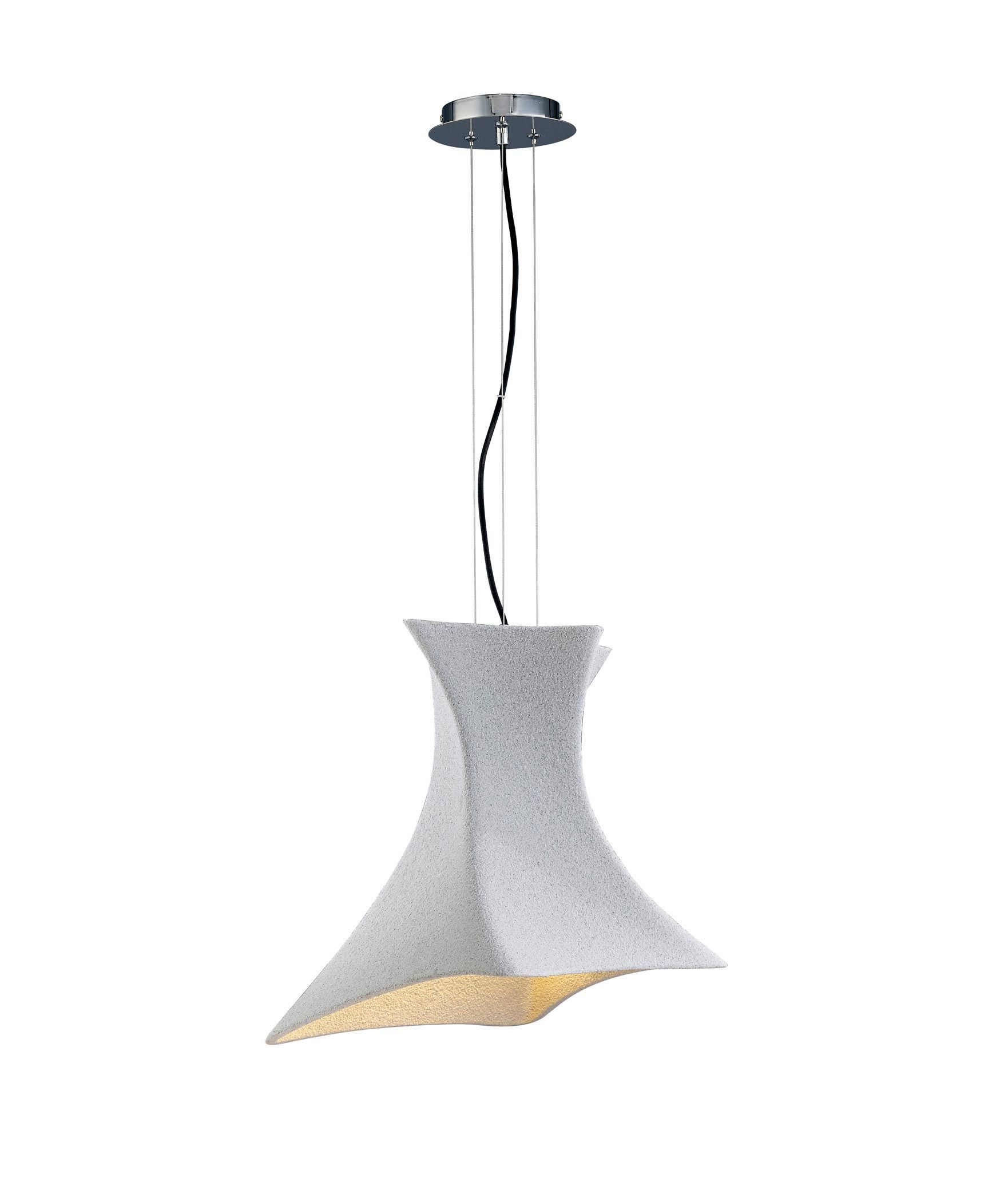 Lámpara colgante cemento TWIST