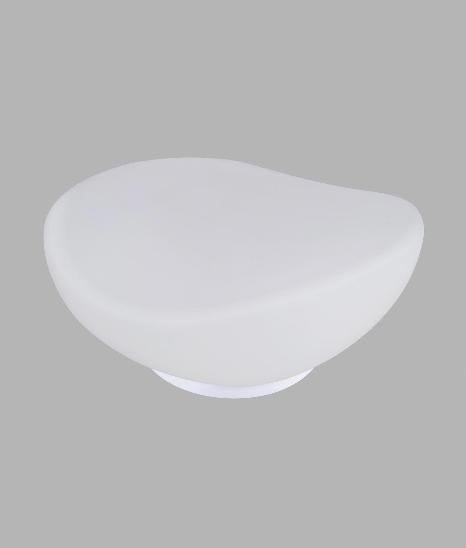 Lámpara de mesa OPAL cristal cromo