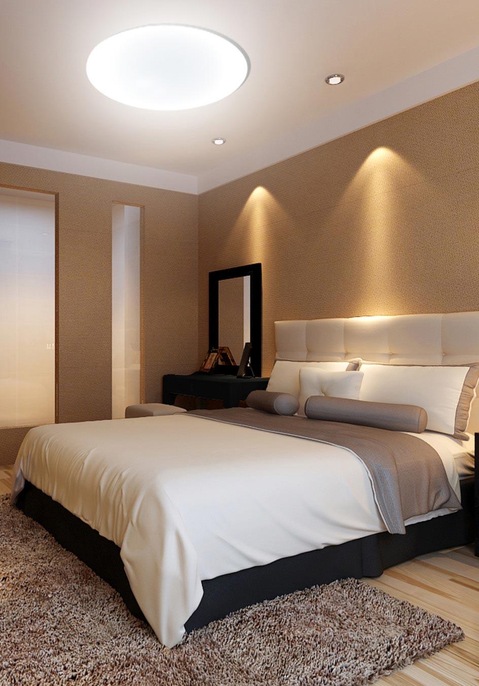 Plaf N Led Regulable Zero 77 Cm Luz C Lida Fr A ~ Plafones De Techo Para Dormitorio