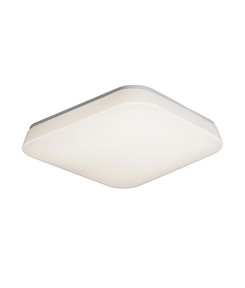 Plafón LED mediano luz cálida QUATRO
