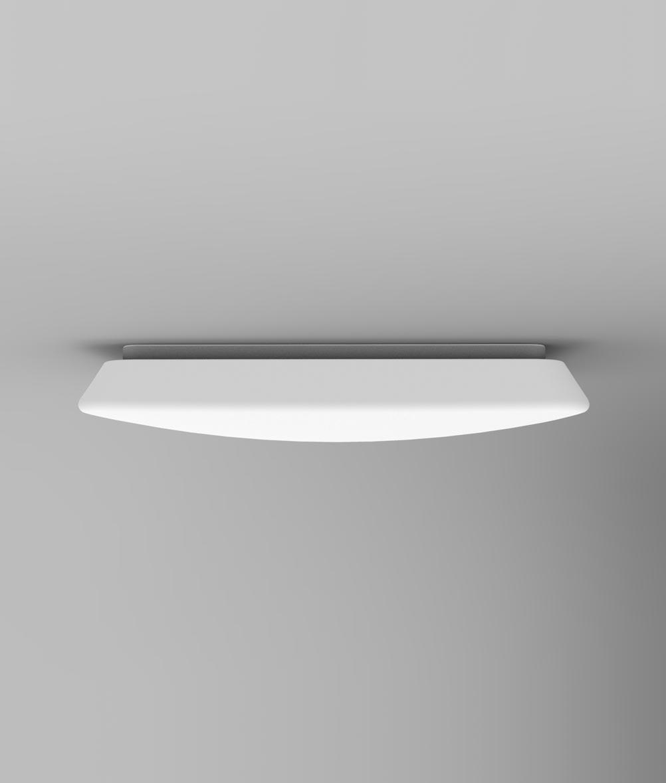 Plafón LED regulable QUATRO 60 cm luz cálida/fría posición