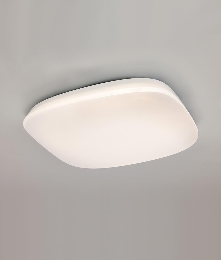 Plafón LED regulable QUATRO 60 cm luz cálida/fría