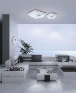 Plafones LED CITY ambiente