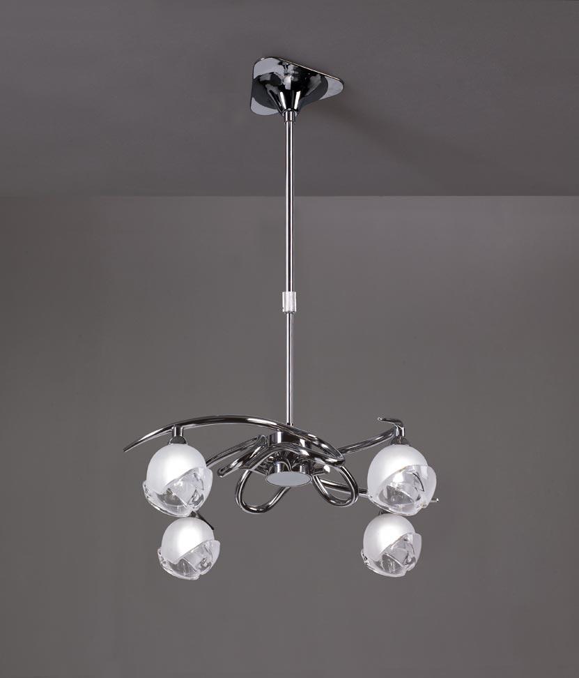 Lámpara 4 luces G9 BALI