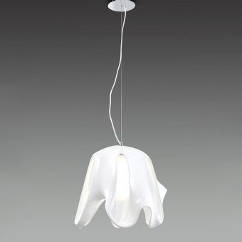 Lámpara colgante blanca PHANTOM