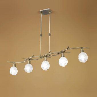 Lámpara lineal cuero BALI
