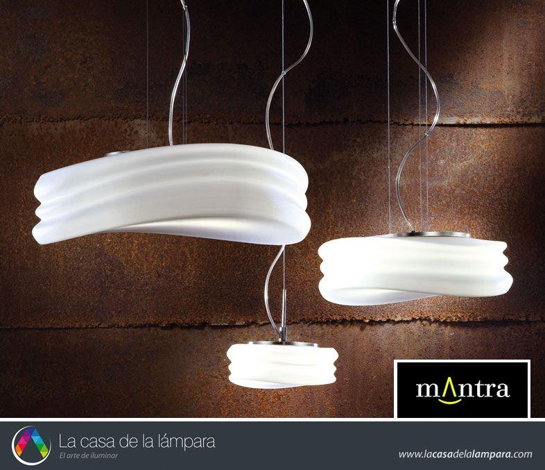 Lámparas colgantes Mantra La Casa de la Lámpara