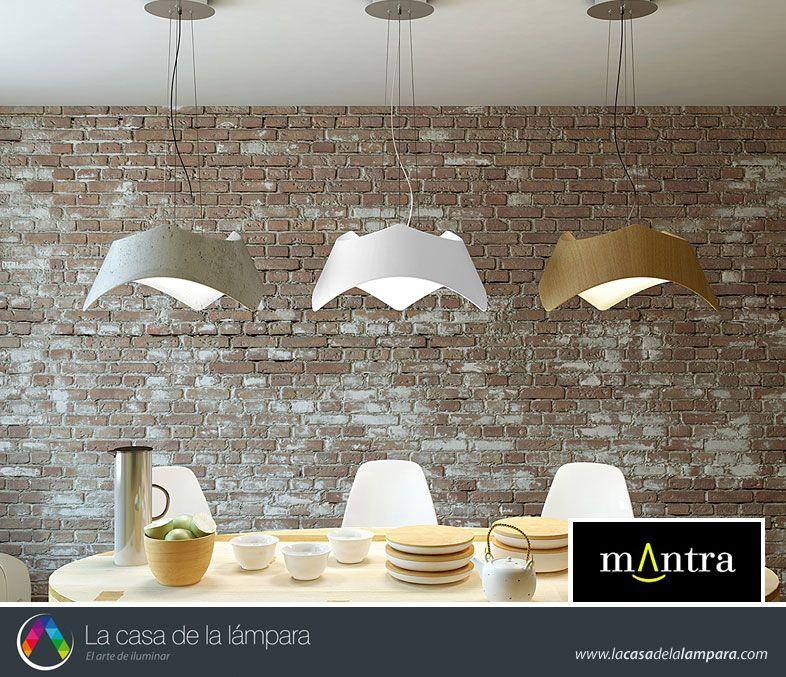 Lámparas colgantes MAUI - La Casa de la Lámpara