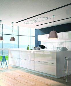 Lámpara colgante TRIANGLE cemento ambiente
