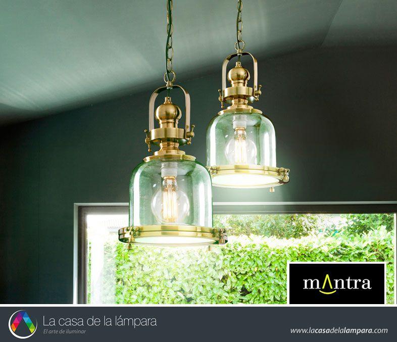 Lámparas de latón para decorar interiores modernos