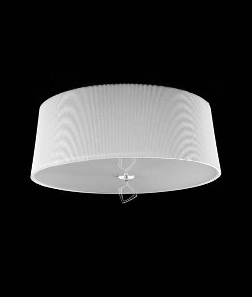 Plafón cromo MARA 4 luces