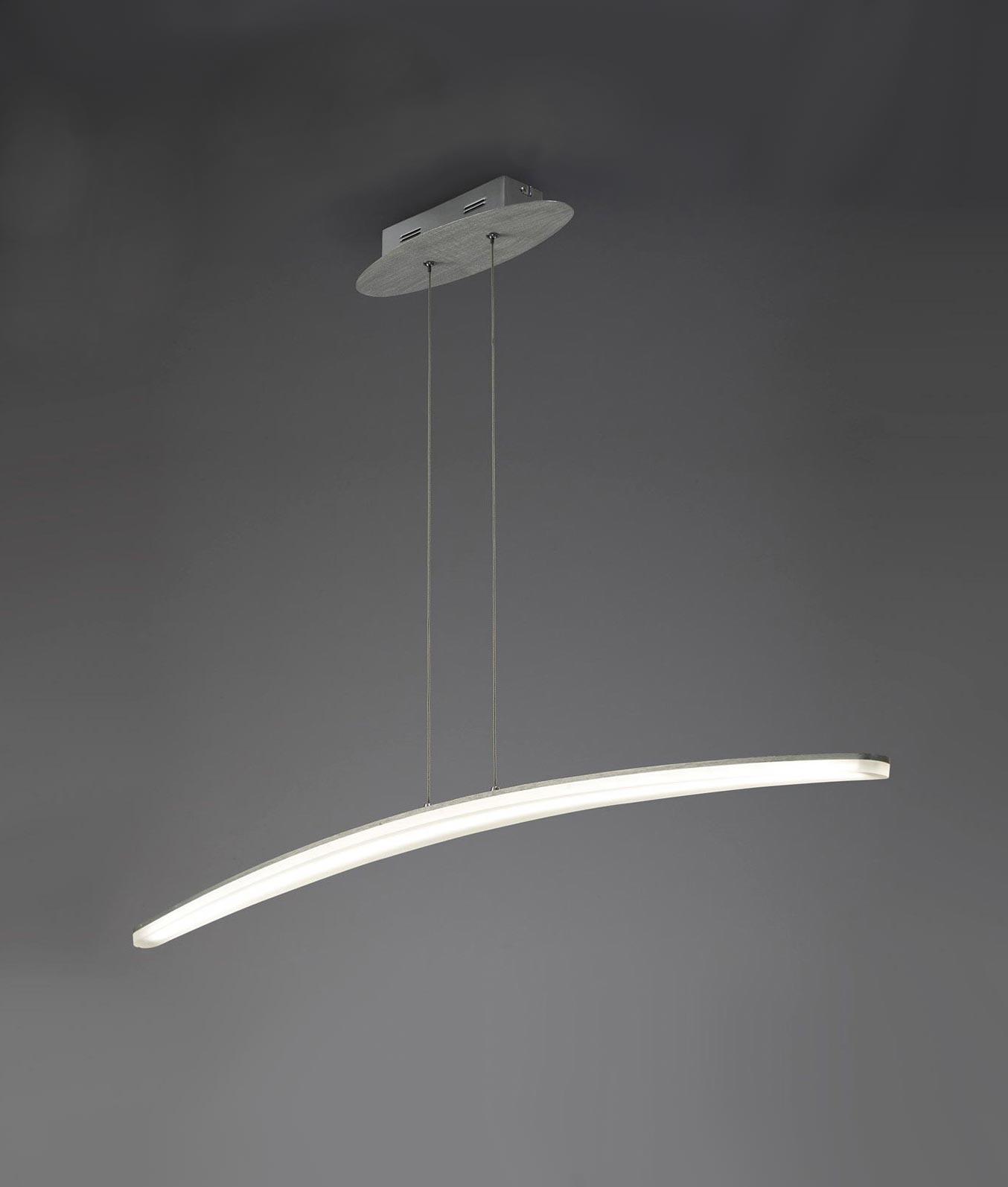 Lámpara grande HEMISFERIC aluminio