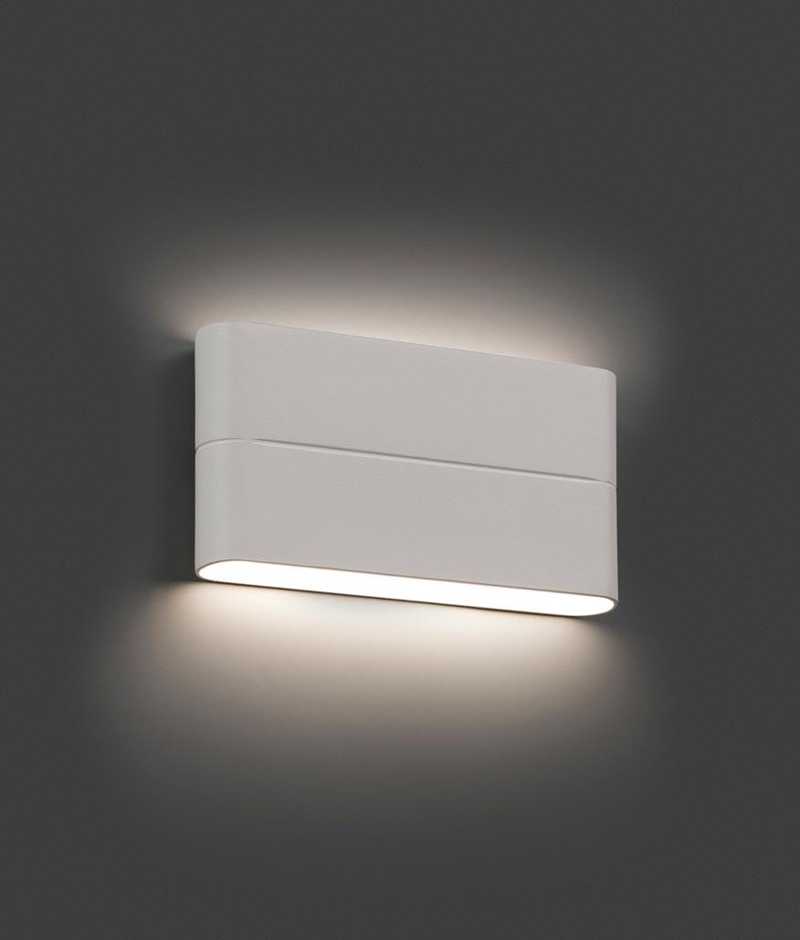 aplique de pared led blanco aday ambiente - Lampara Pared