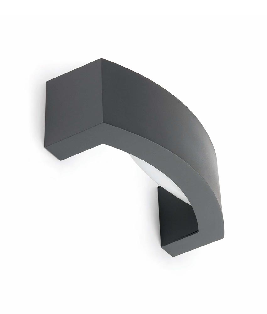 Aplique moderno ANCORA gris