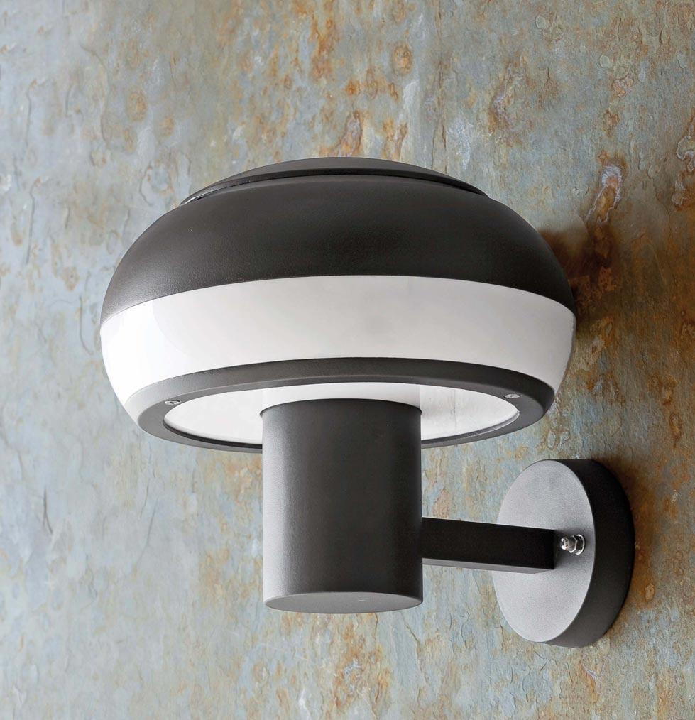 Lámpara aplique BOLETUS gris oscuro ambiente 2