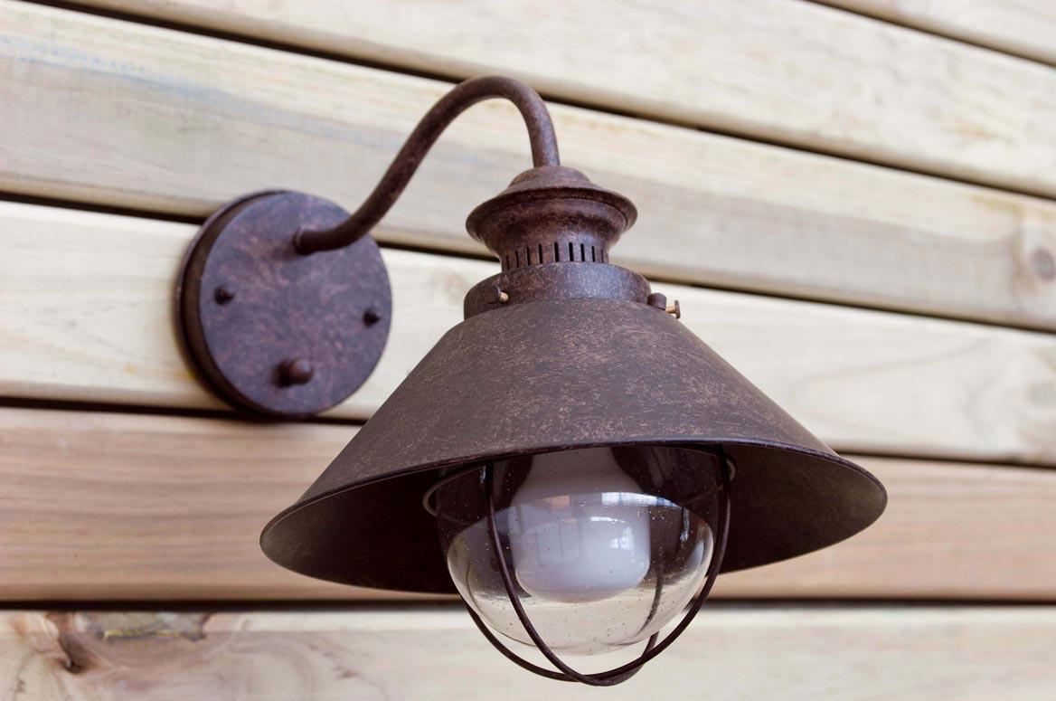 L mpara aplique marr n xido n utica la casa de la l mpara for Modelos de lamparas