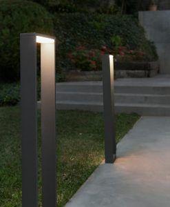Lámpara baliza grande ALP gris ambiente
