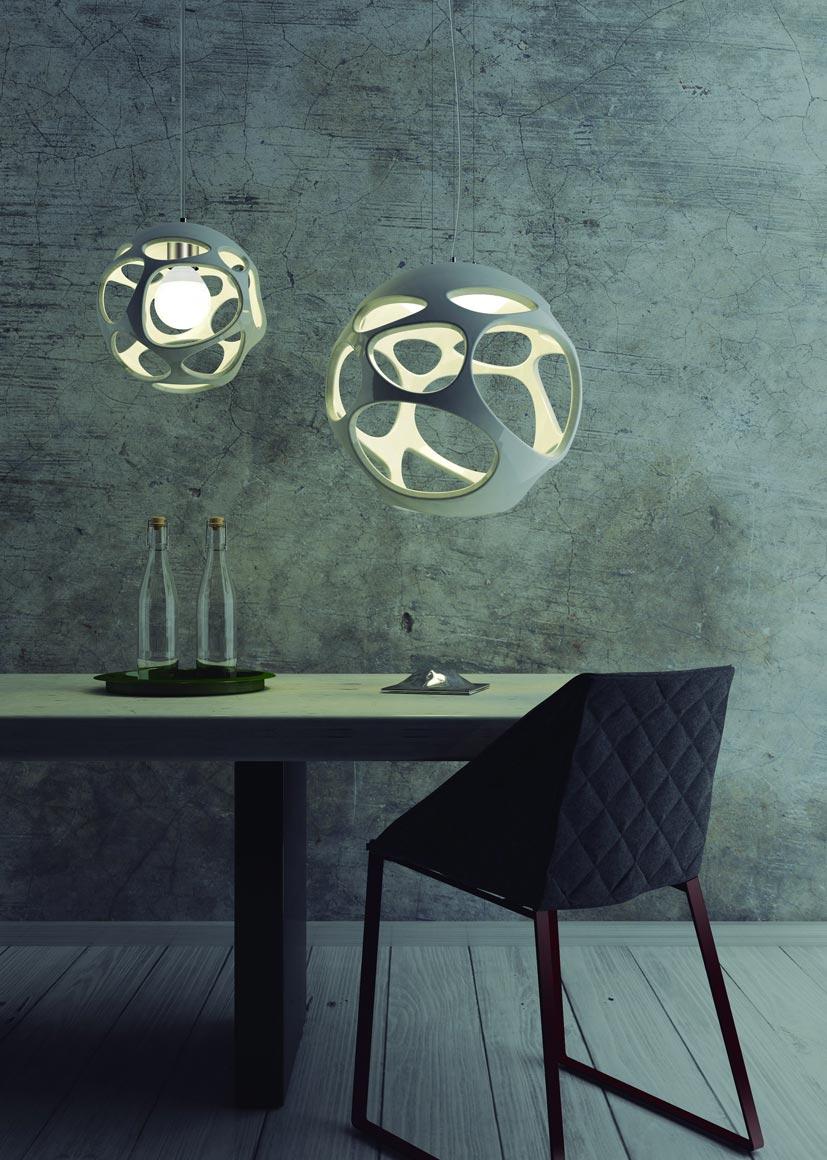 Lámpara de techo ORGANICA ambiente