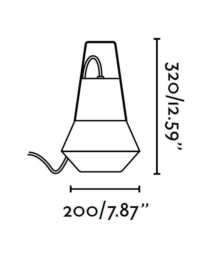 Lámpara portátil CAT medidas