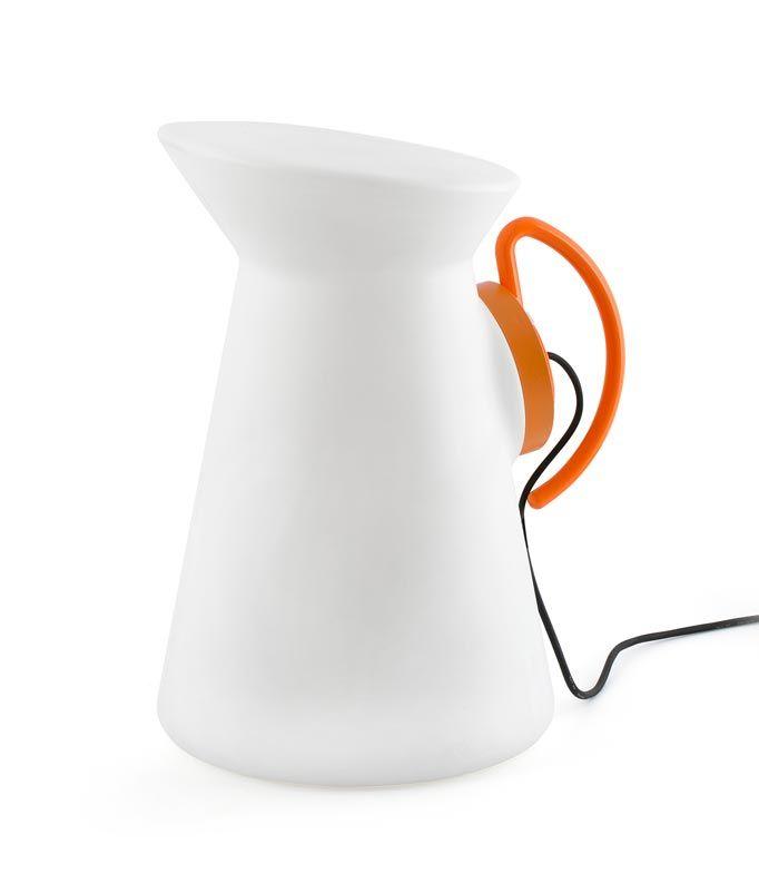 Lámpara portátil naranja JARRETT