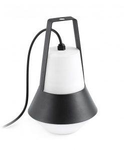 Lámpara portátil negra CAT