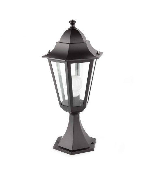 Lámpara sobremuro PARIS negro