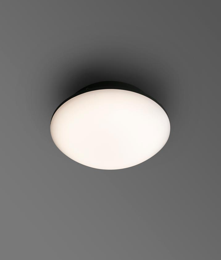 Plafón-aplique LED SUN gris ambiente