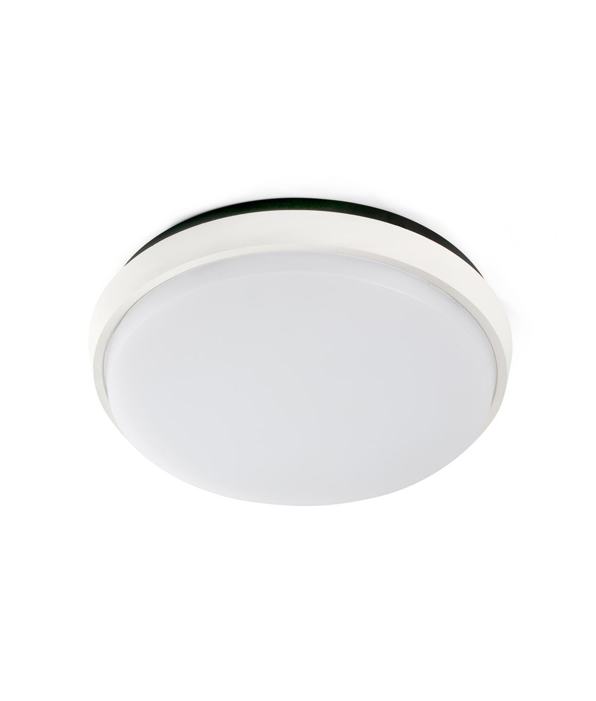 Plafón exterior LED MERA blanco