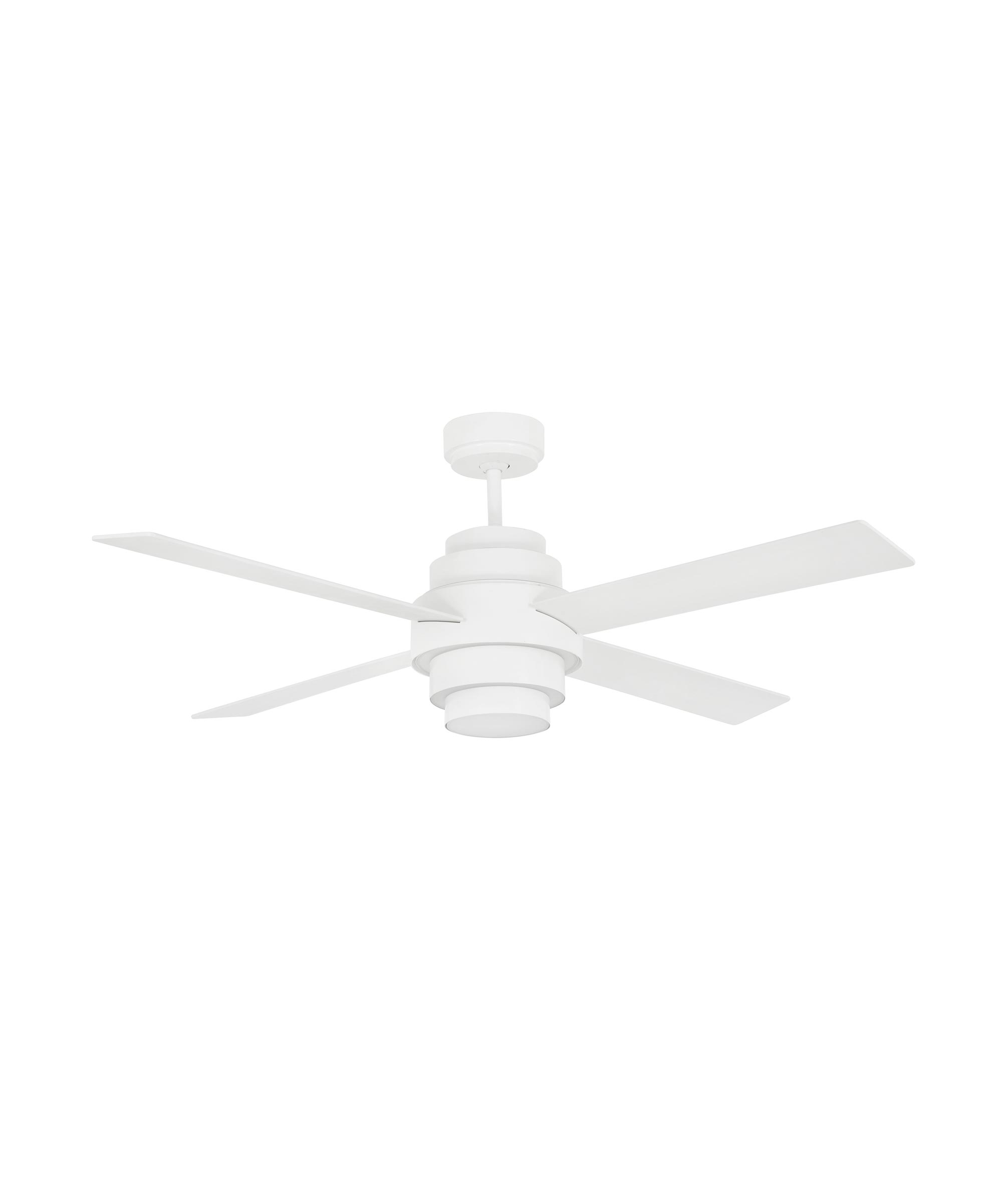 Ventilador blanco DISC FAN LED