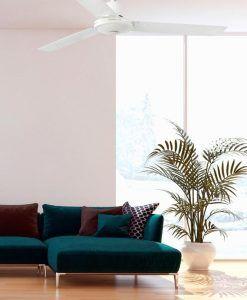 Ventilador de techo blanco ECO INDUS ambiente