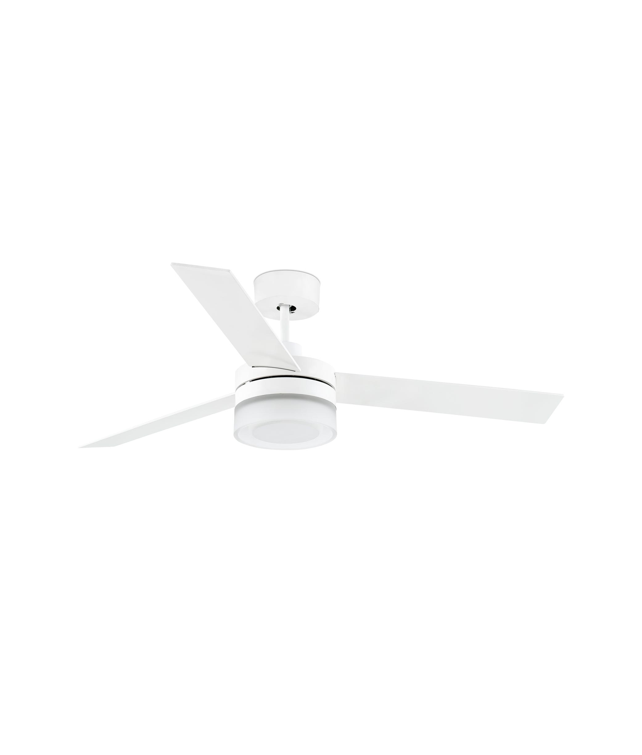 Ventilador de techo blanco ICE LED