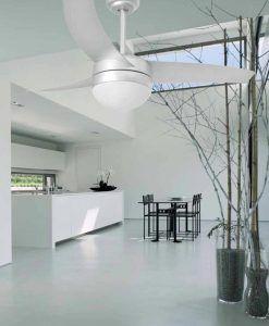 Ventilador de techo gris EASY ambiente
